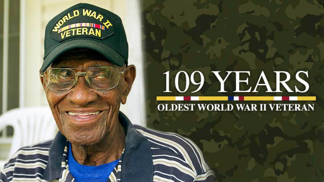 109 Years – Oldest World War II Veteran