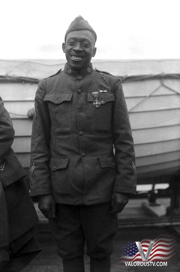 Valorous TV Henry Johnson awarded Medal of Honor