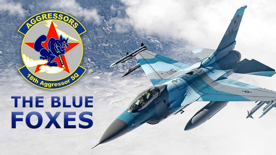 18th Aggressor Squadron – The Blue Foxes