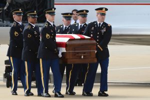 Member of La. Guard's Military Funeral Honors team performs 1,000th funeral