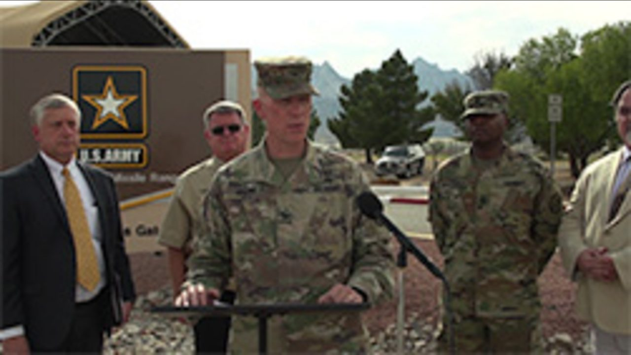 WSMR Garrison Commander Talks About Exercise Turned Real World Event