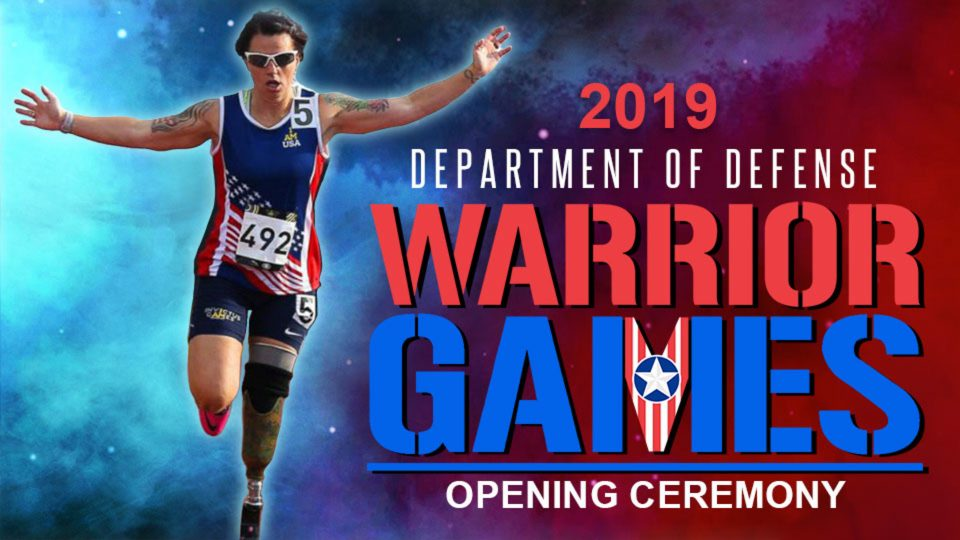 2019 Department of Defense Warrior Games – Opening Ceremony