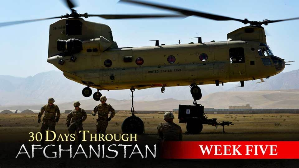 30 Days Through Afghanistan: Week 5