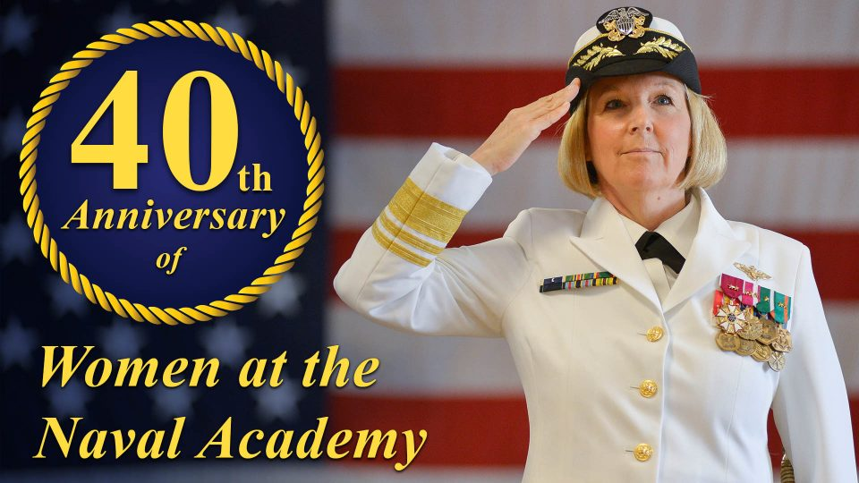 Women At The Naval Academy 40th Anniversary