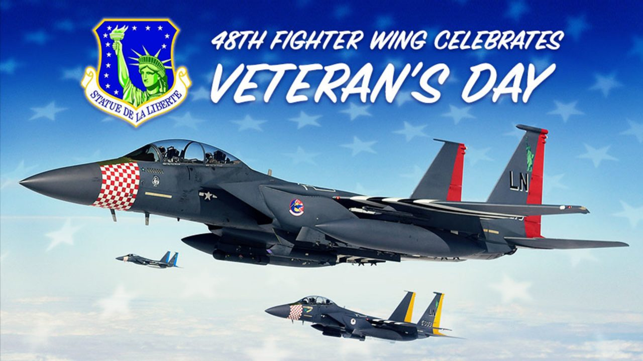 48th Fighter Wing Celebrates Veteran's Day