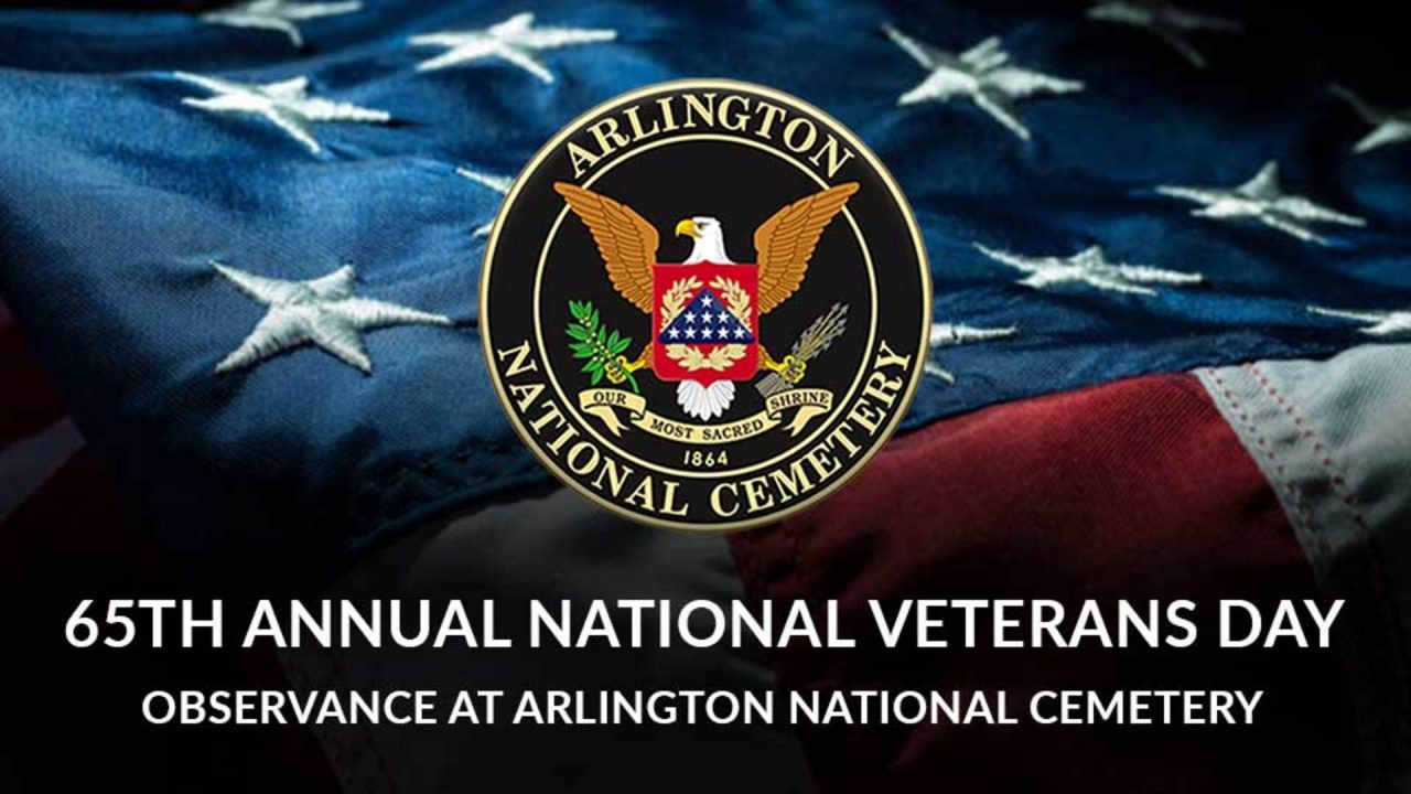 65th Annual National Veterans Day Observance at Arlington National Cemetery