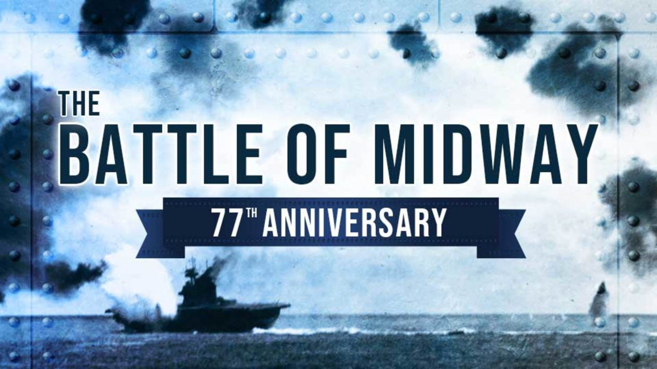 77th Anniversary of The Battle of Midway