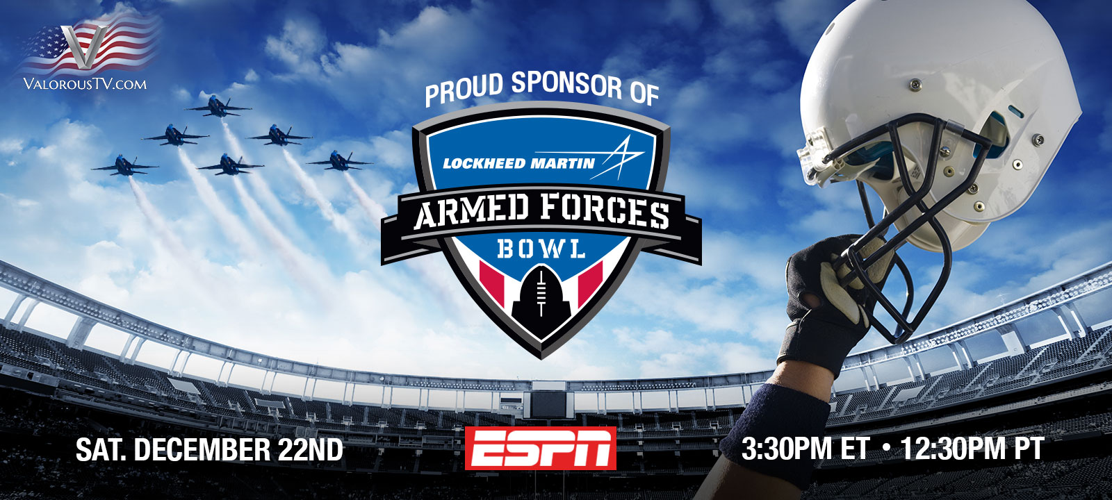 Lockheed Martin Armed Forces Bowl on ESPN