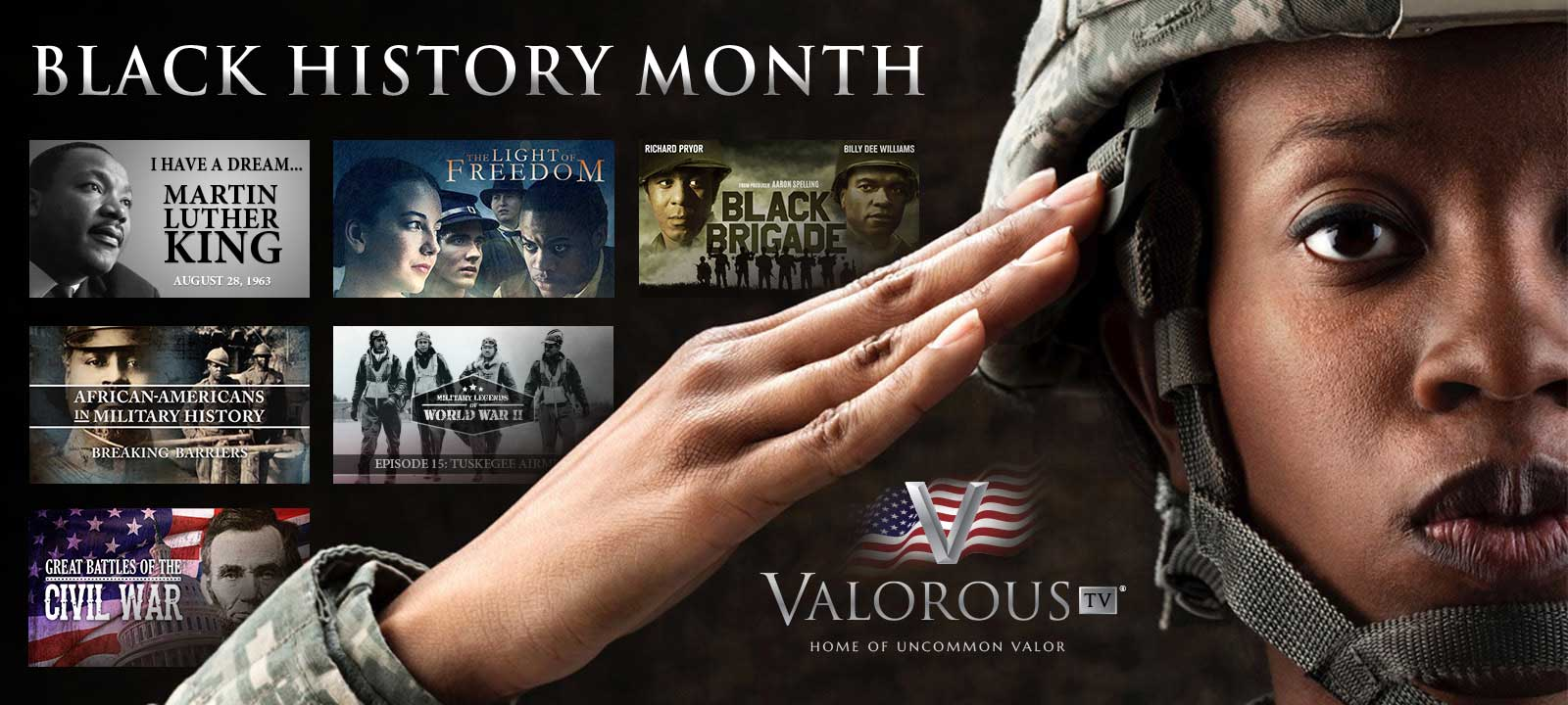 Valorous TV Celebrates Black History Month
