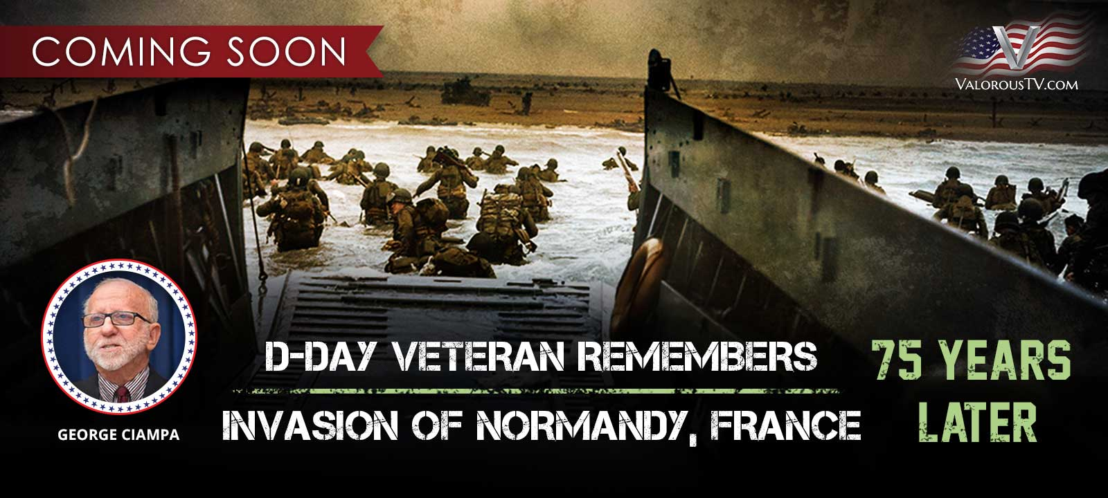 D-DAY VETERAN REMEMBERS INVASION OF NORMANDY 75 YEARS LATER