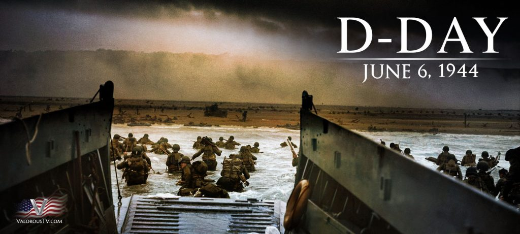 Valorous TV Honors the Anniversary of D-Day