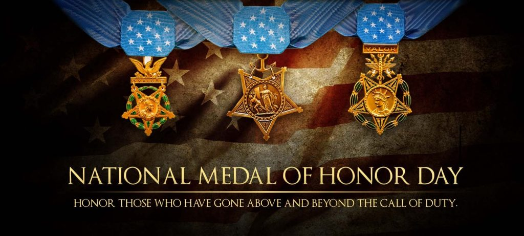 Valorous TV - National Medal of Honor Day
