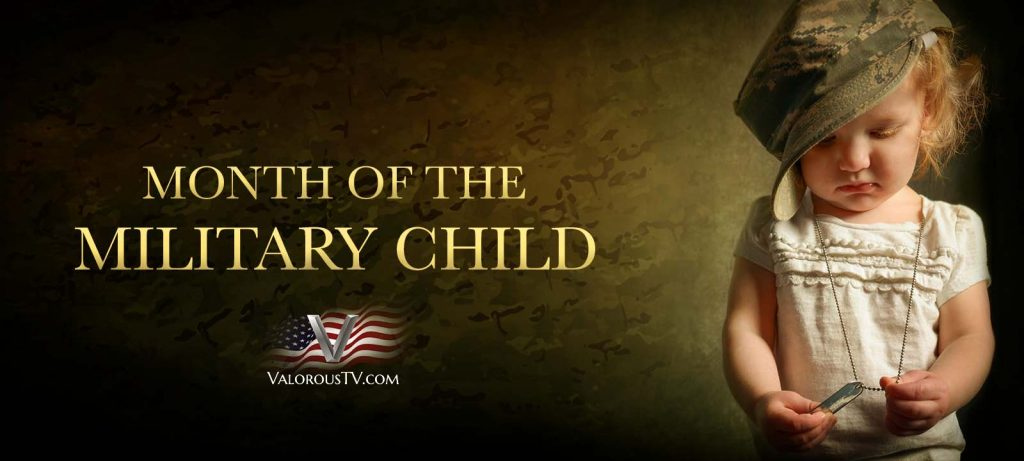 Valorous TV Celebrates The Month of The Military Child