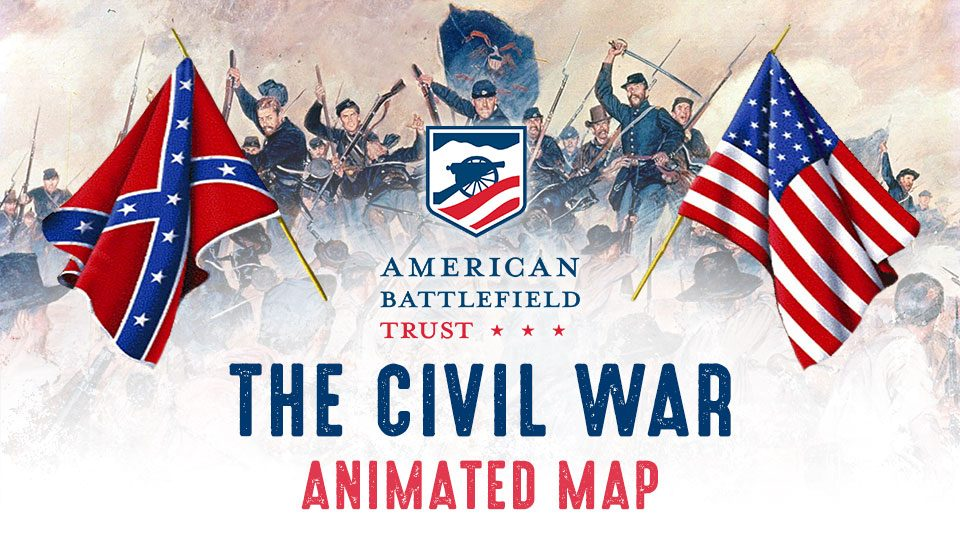 Civil War Animated Map Trailer