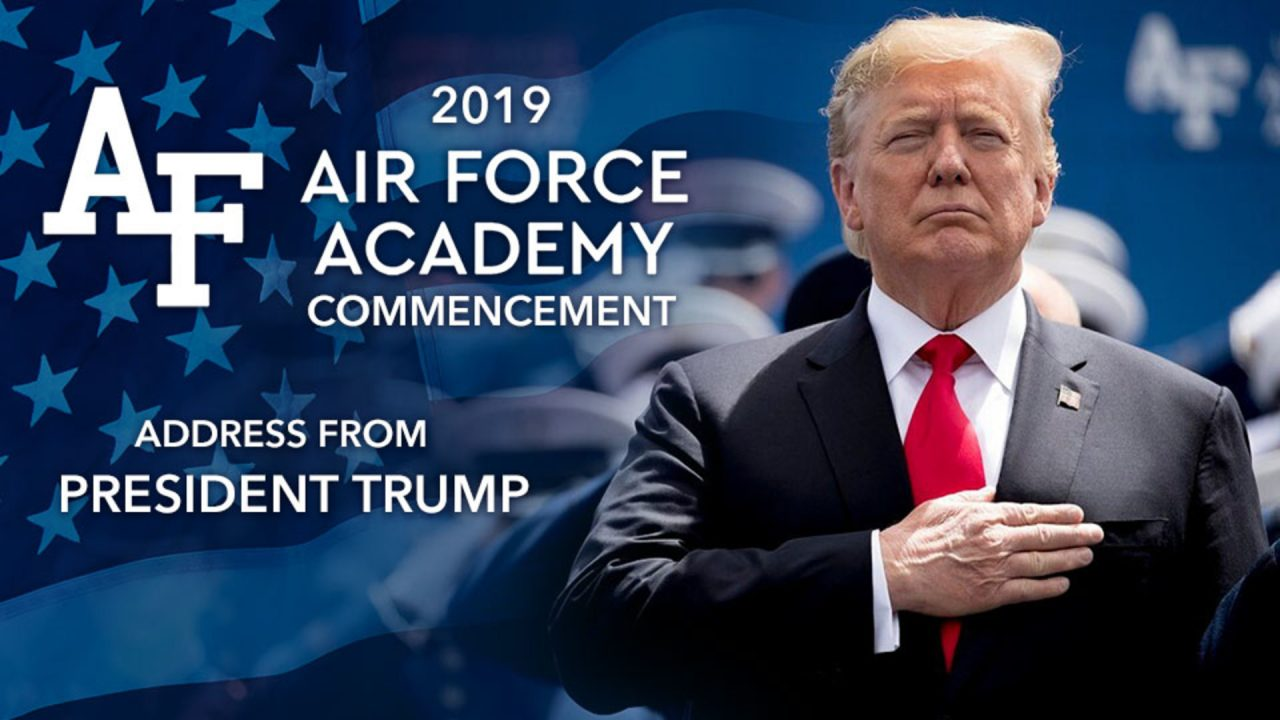 AIR FORCE: President Trump 2019 Commencement Speech