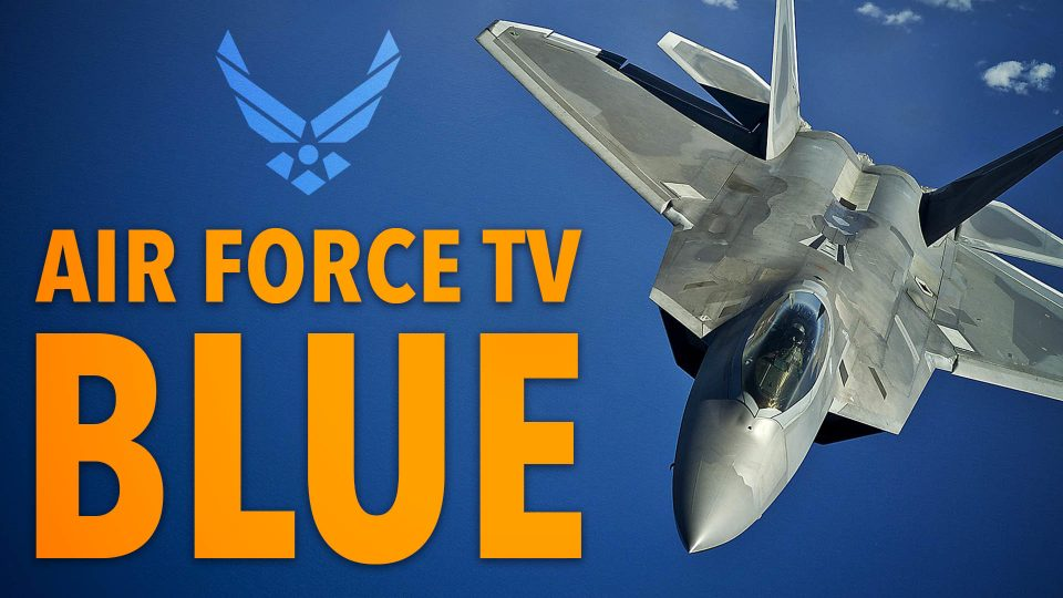 Air Force TV Blue