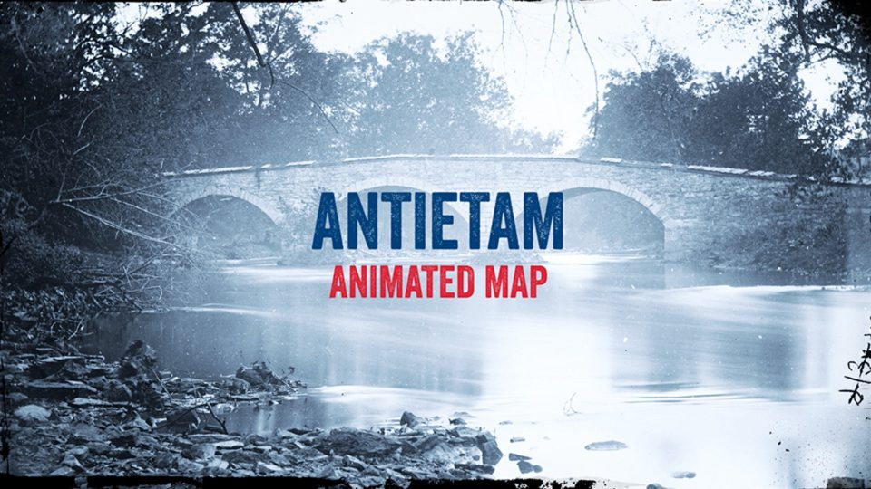 Antietam Animated Map