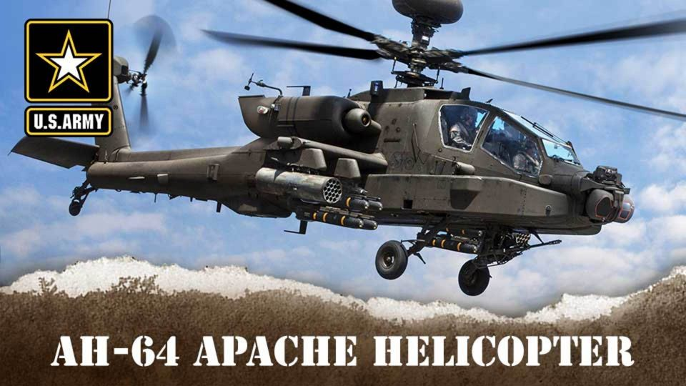Army's AH-64 Apache Helicopter