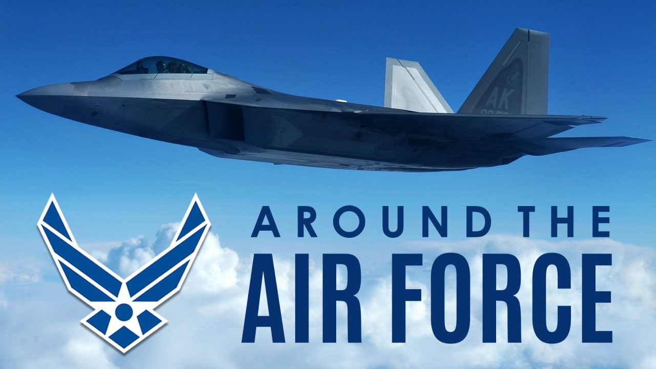 Around the Air Force: Space Operations Command/Grey Wolf Helicopter/Air Force 75th Birthday Theme