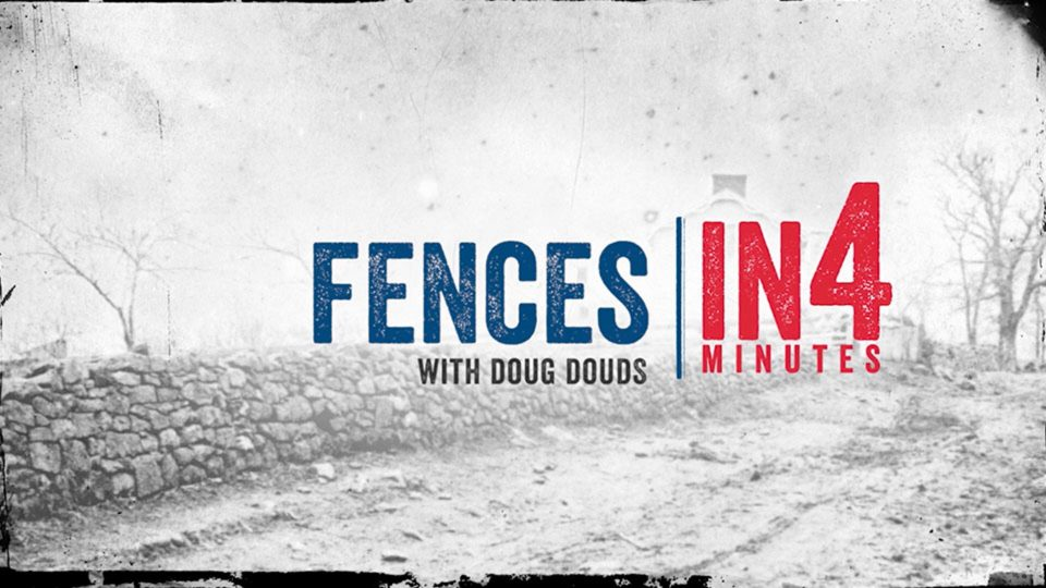 Battlefield Fences: The Civil War in Four Minutes