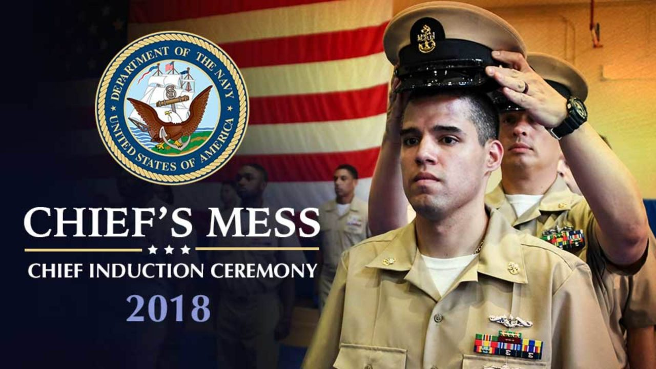 Chief's Mess: Chief Induction Ceremony 2018
