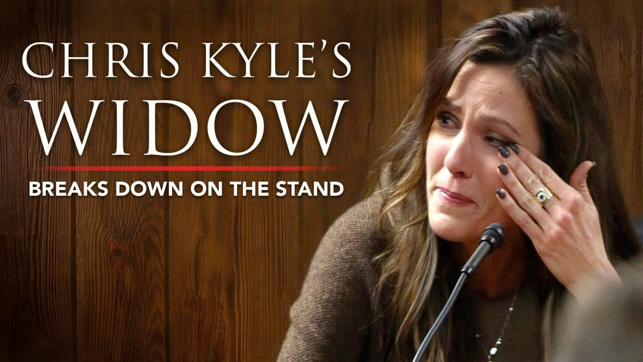 Chis Kyle's Widow Breaks Down On The Stand And The Chilling Text Message – Part 2