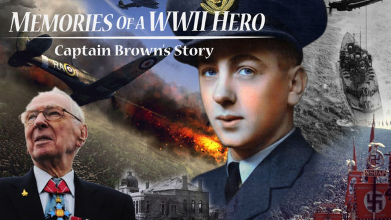 Memories Of A WWII Hero: Captain Brown's Story