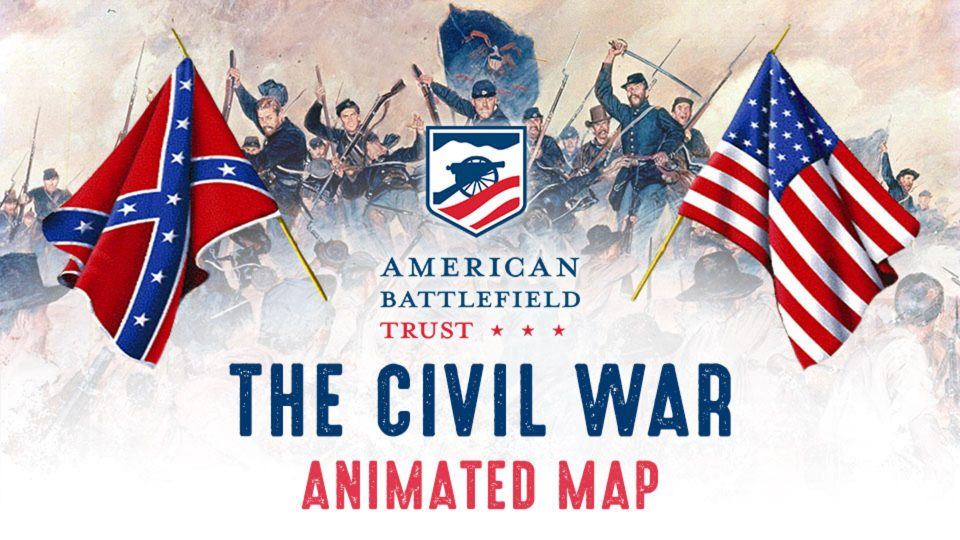 Civil War Animated Map