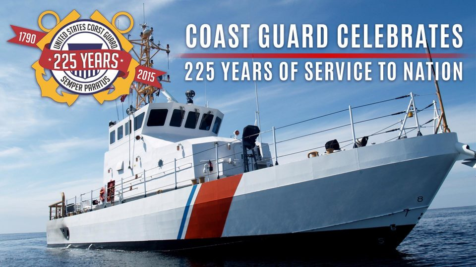 Coast Guard Celebrates 225 Years Of Service To Nation