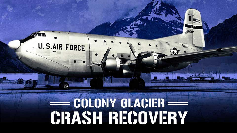 Colony Glacier Crash Recovery
