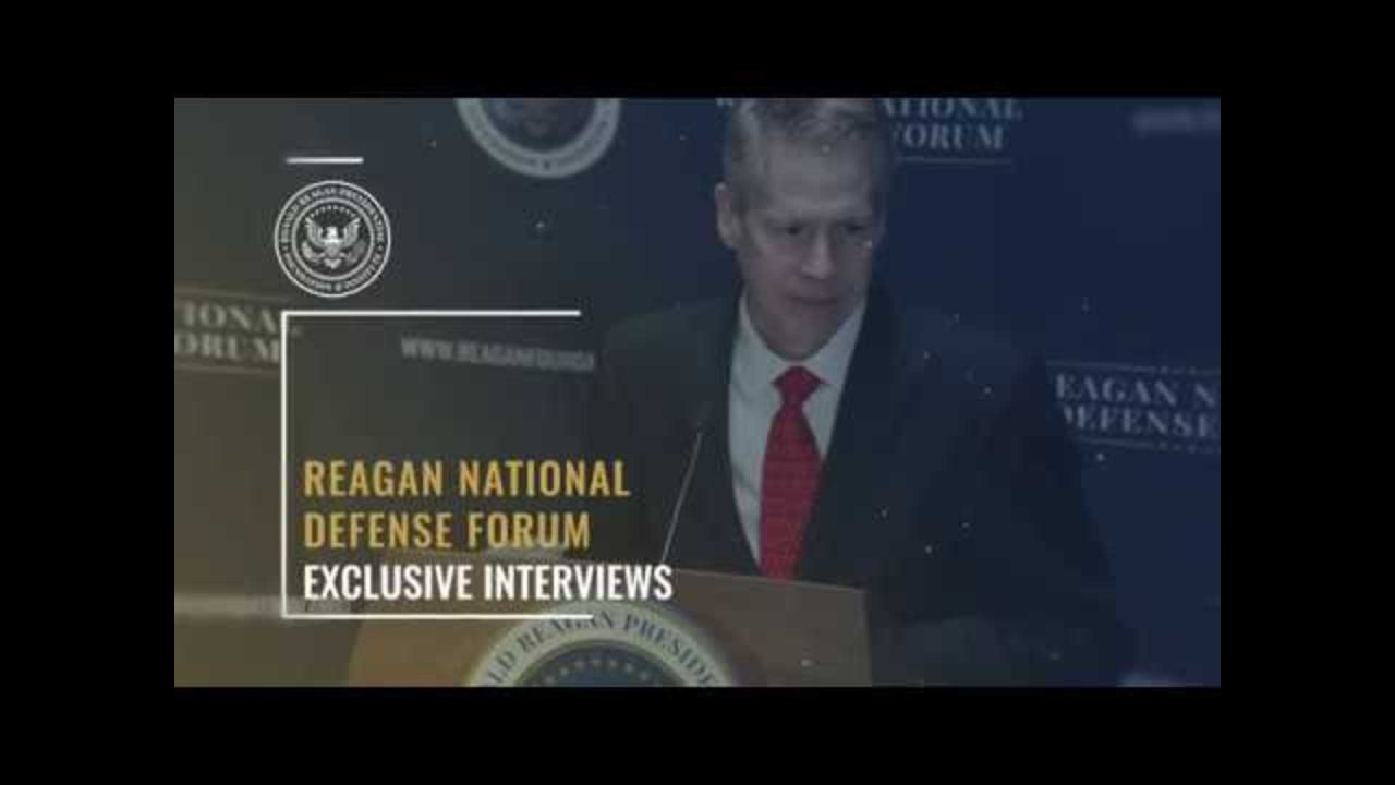 Exclusive Interview w/ General David Petraeus — 2017 Reagan National Defense Forum