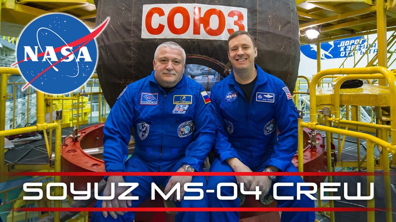 Soyuz MS-04 Crew Welcomed Aboard The Space Station