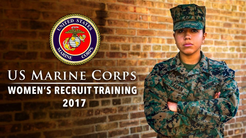 US Marine Corps Women's Recruit Training
