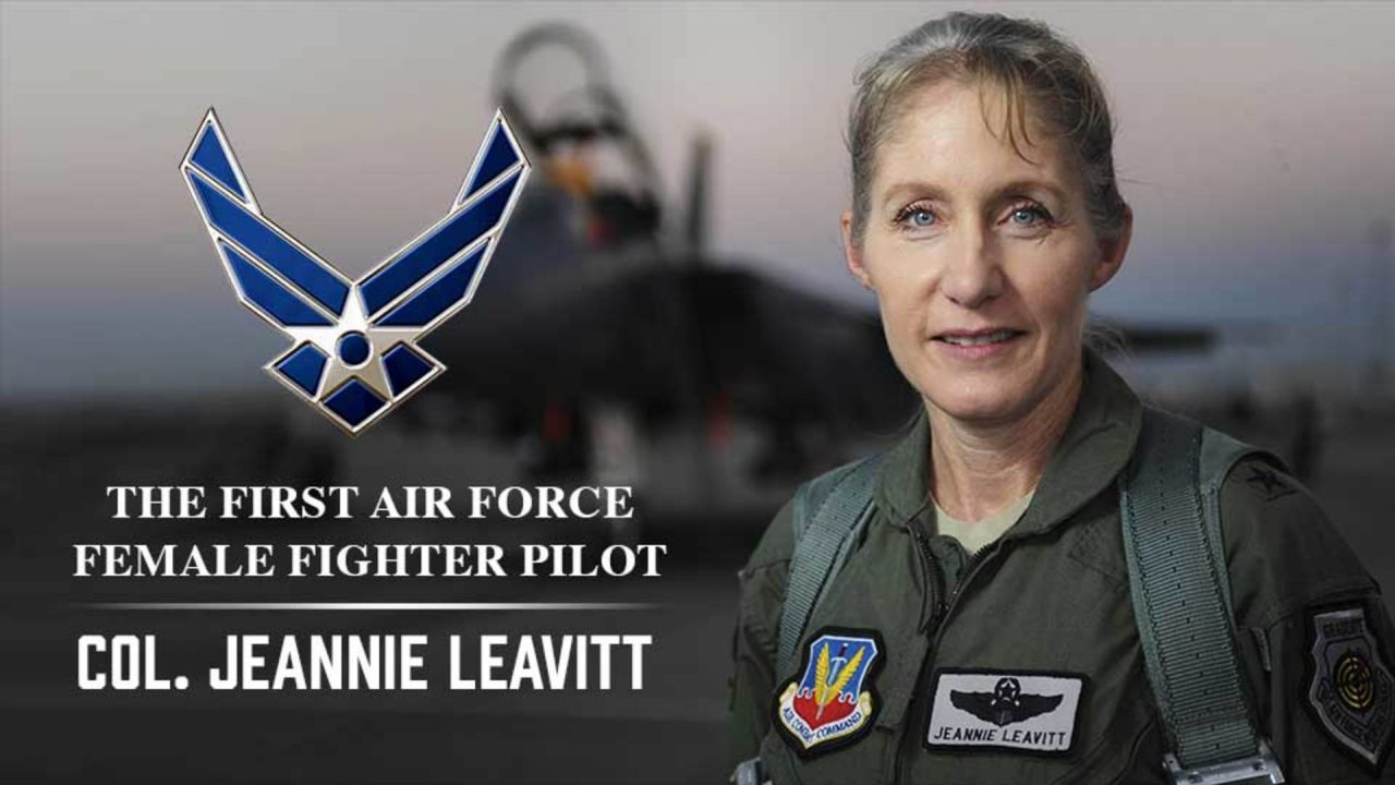 First Air Force Female Fighter Pilot