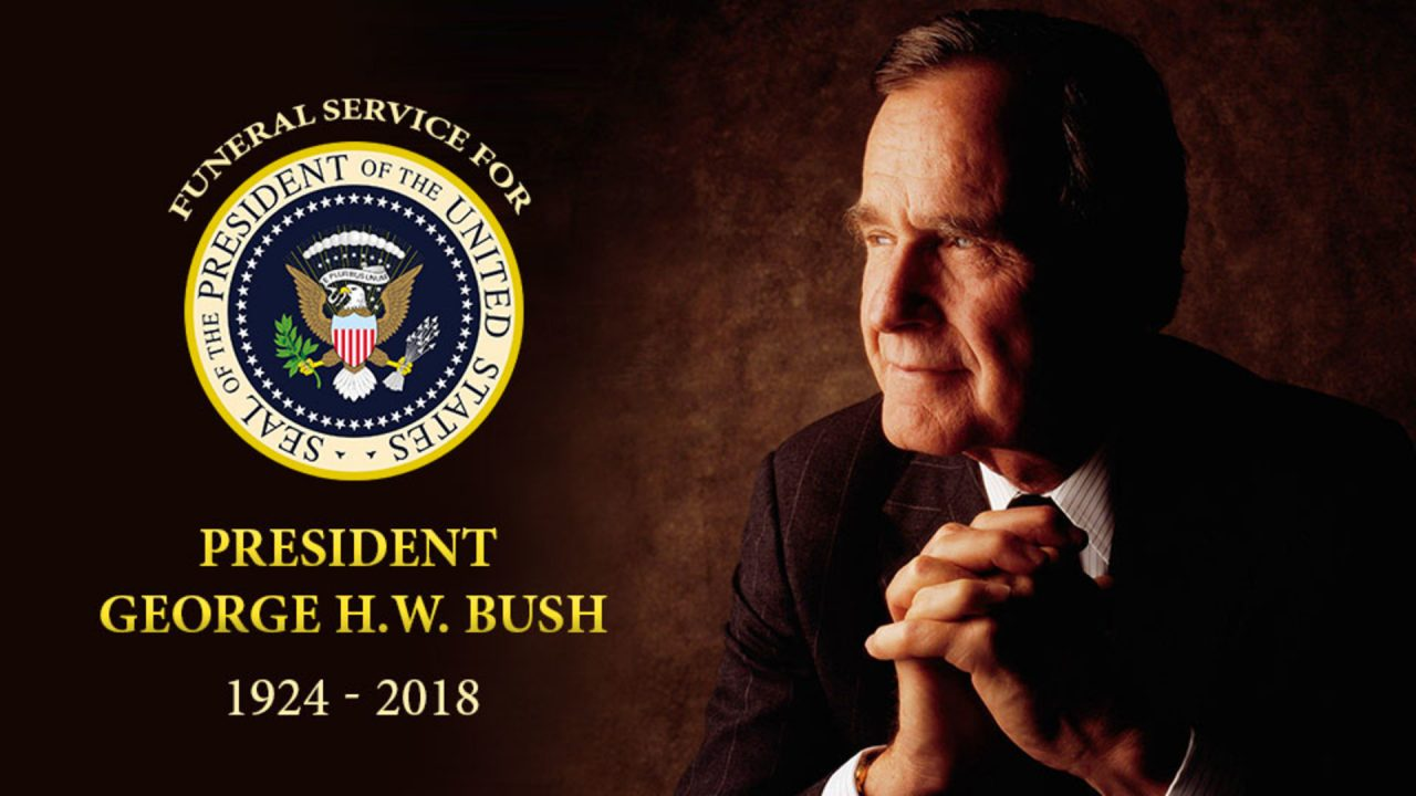 Funeral Service For President George H.W. Bush