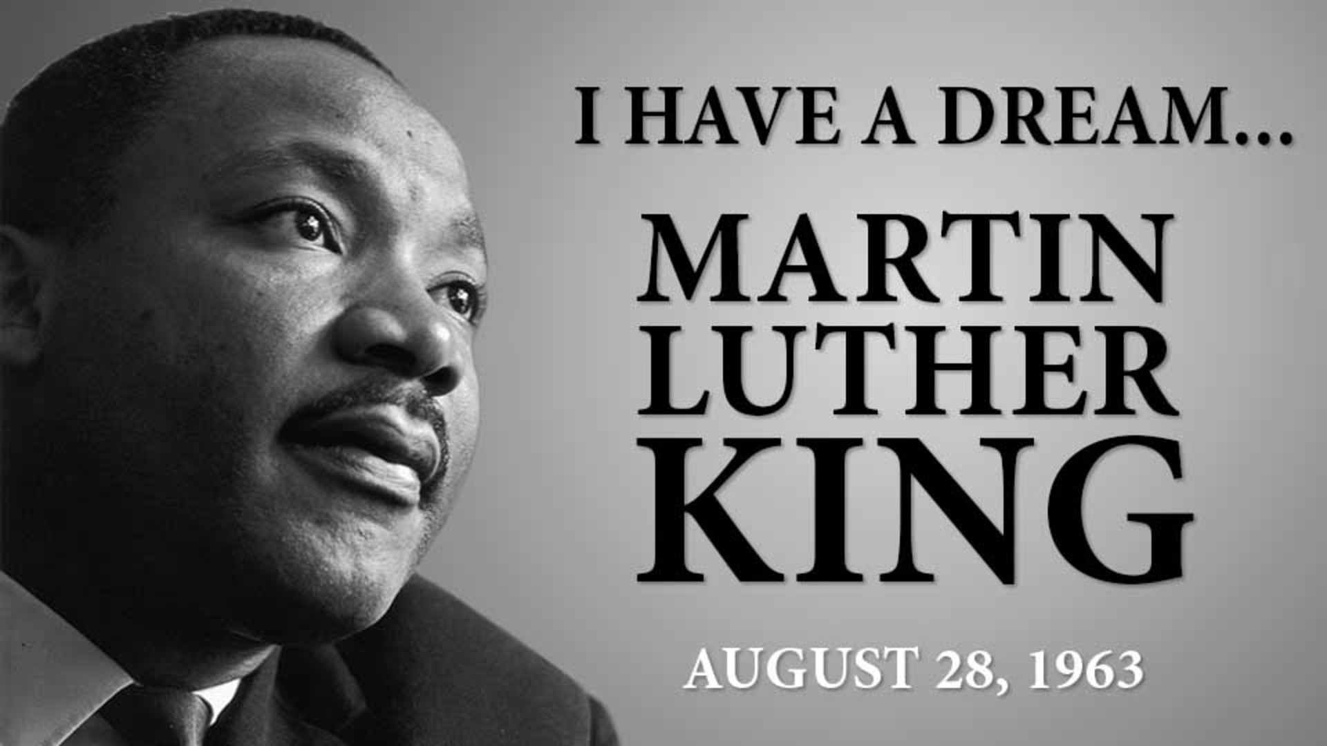 martin luther king i have Initiated by the king center in atlanta, the martin luther king, jr papers project is one of only a few large-scale research ventures focusing on an african american.