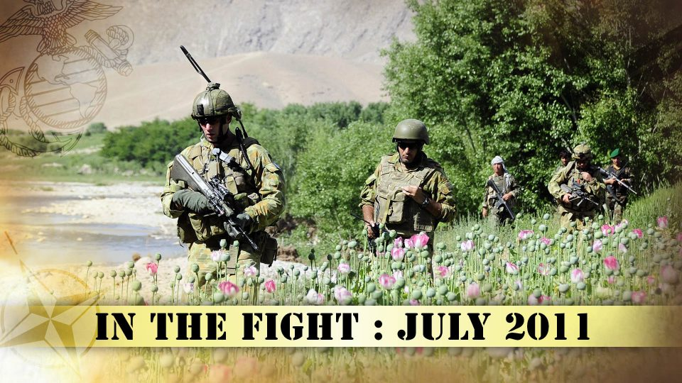 In The Fight – July 2011