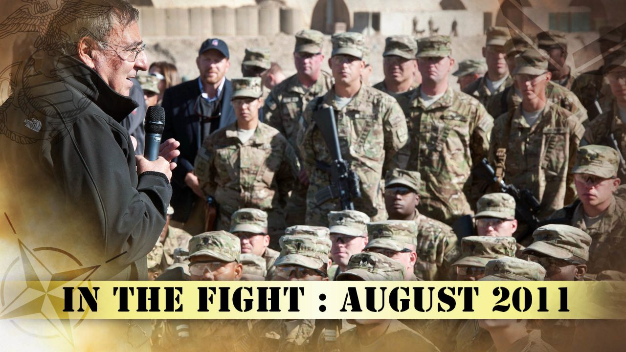 In The Fight – August 2011