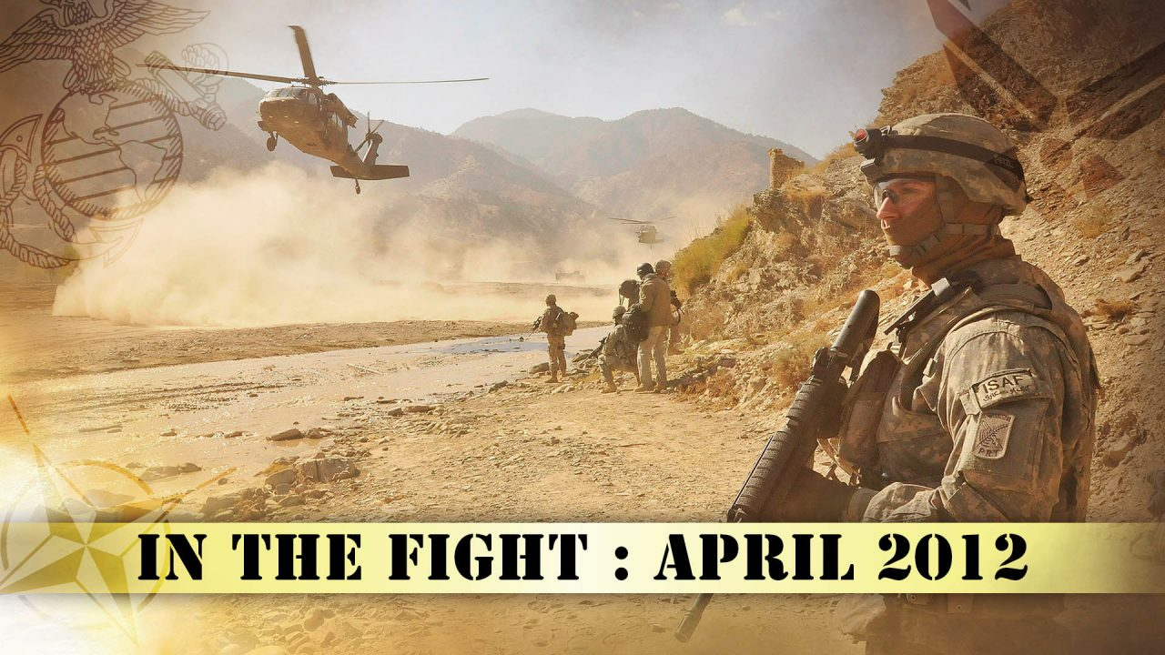 In The Fight – April 2012