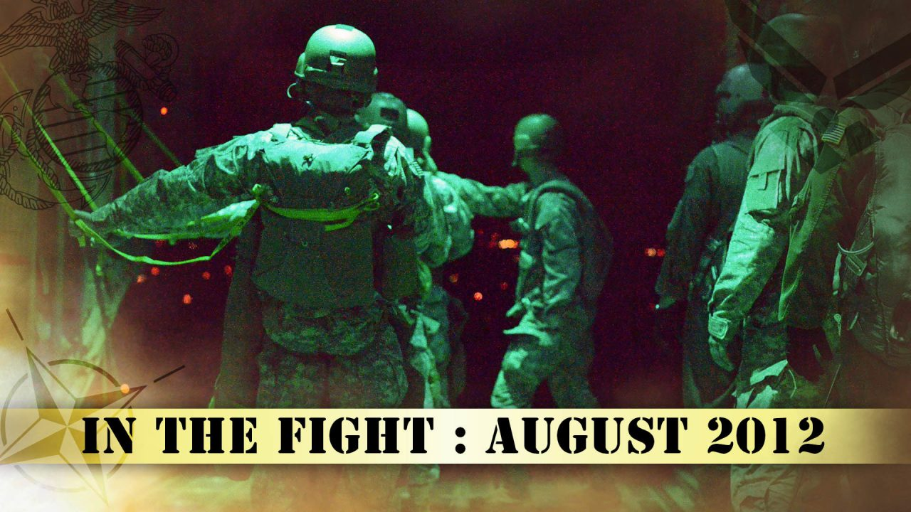 In The Fight – August 2012