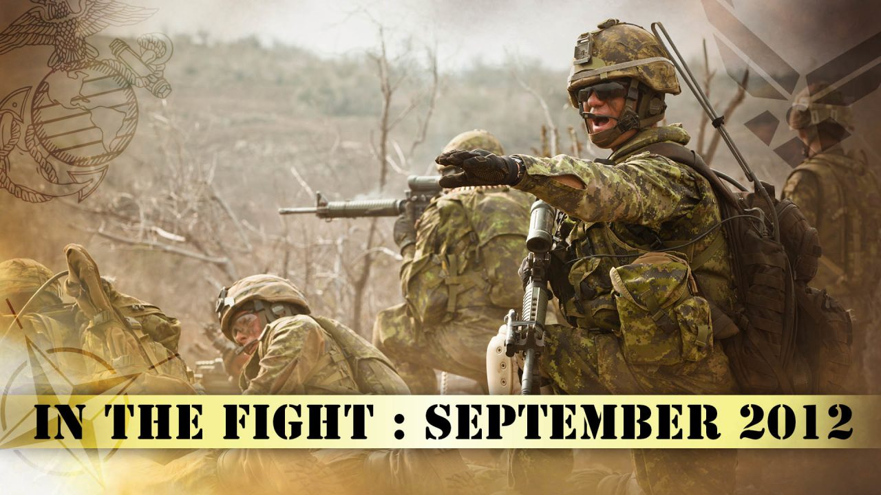 In The Fight – September 2012