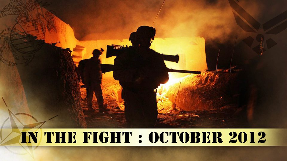 In The Fight – October 2012