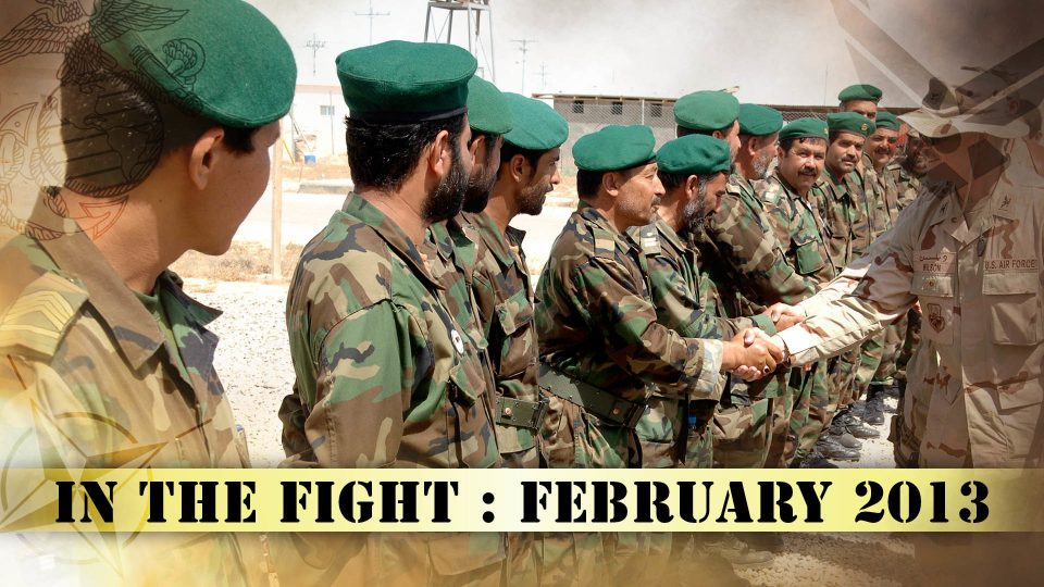 In The Fight – February 2013