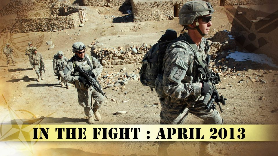 In The Fight – April 2013
