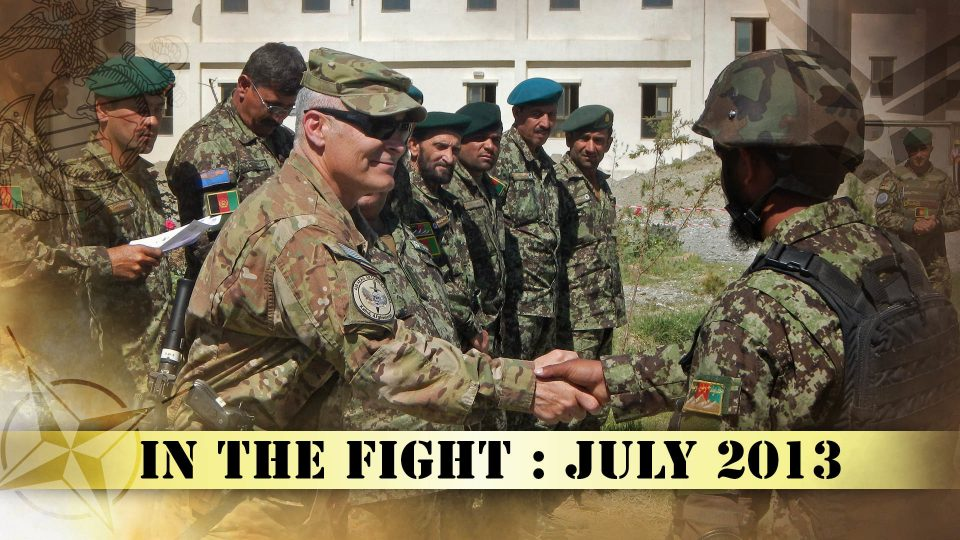 In The Fight – July 2013