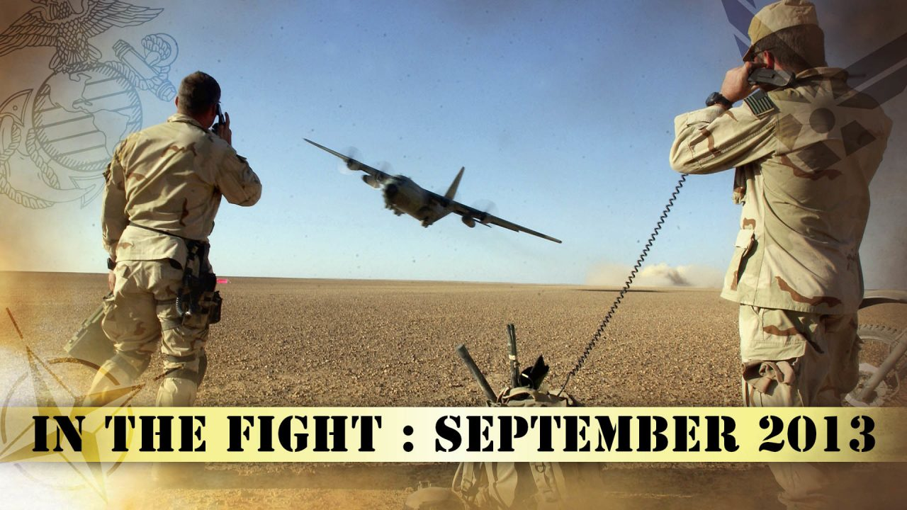 In The Fight – September 2013