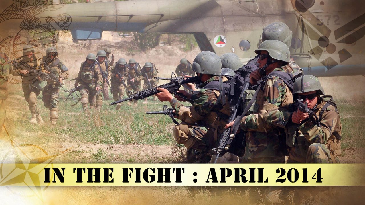 In The Fight – April 2014