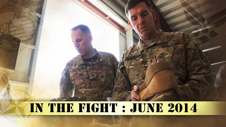 In The Fight – June 2014