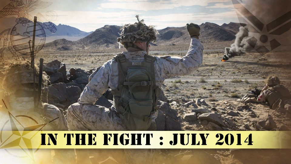 In The Fight – July 2014