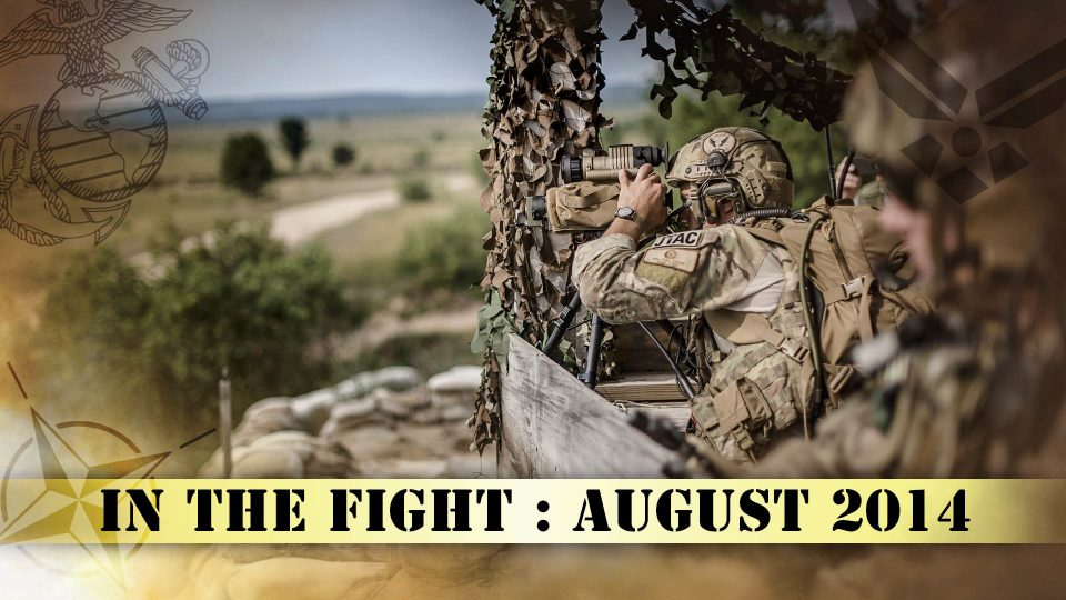 In The Fight – August 2014